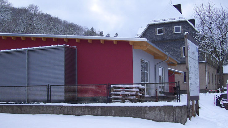 Neubau einer Begenungsstätte